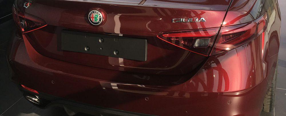 Alfa Romeo Giulia Neulack
