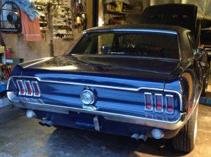 Karosserie und Lack Ford Mustang Oldtimer